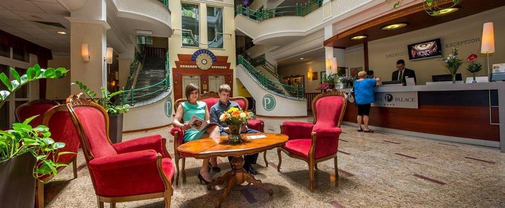 Hotel Palace v Hevízu - s nápojem