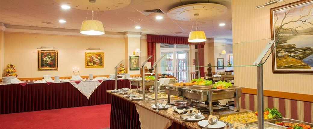 Hotel Palace v Hevízu